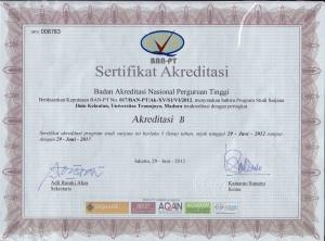 Areditasi Prodi B IKL